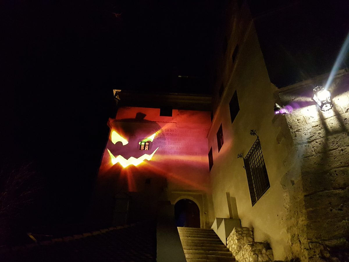 Halloween Party at Bran Castle