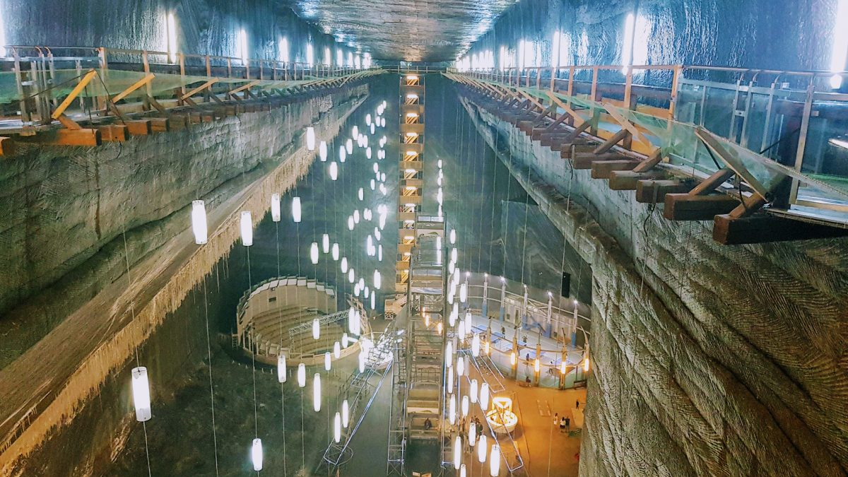 Turda Salt Mines – out of this world